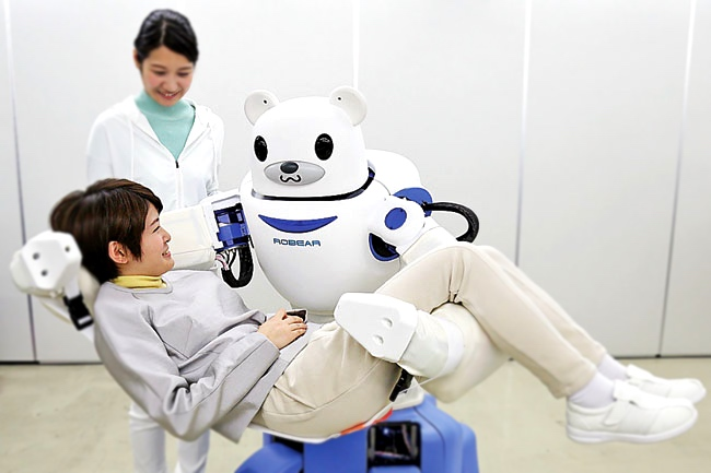 punchtime blog article about robot helping elderly.