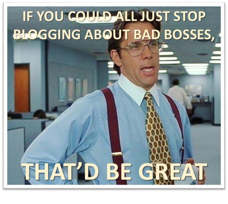 bad boss blog